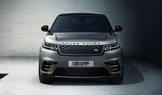 Range Rover Velar Mid Size SUV Front