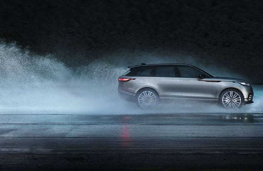 Range Rover Velar Mid Size SUV Traction Technology