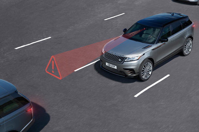 AUTONOMOUS EMERGENCY BRAKING AND LANE DEPARTURE WARNING