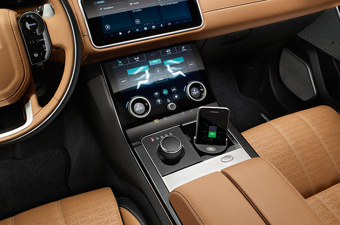 Range Rover Velar Interior Colorways