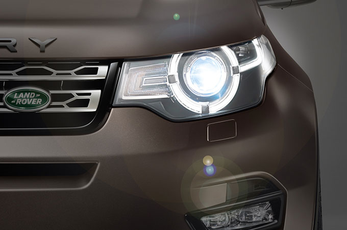 Disovery Sport Automatic lamps and high beam assist