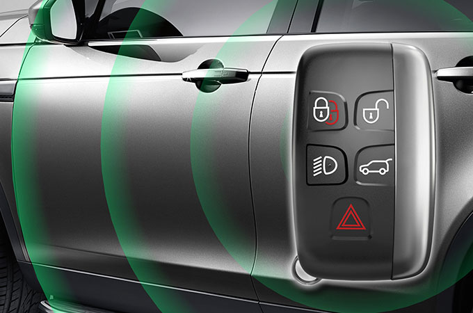 Discovery Sport Keyless entry and locking