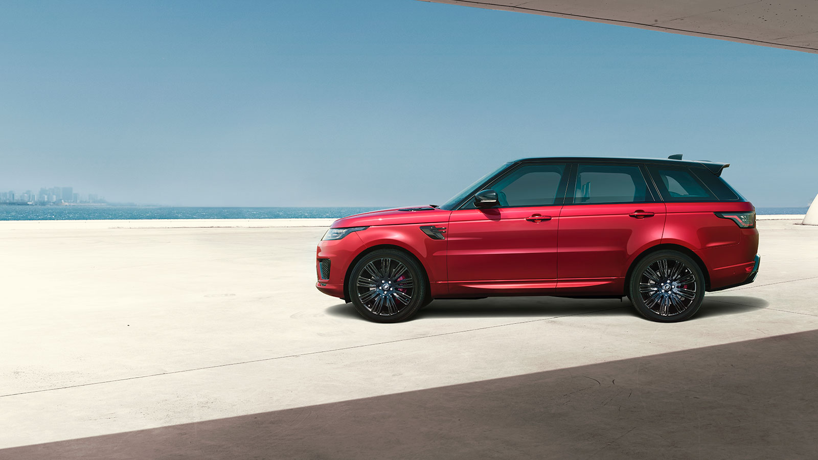 Range Rover Sport's presence is more formidable than ever.