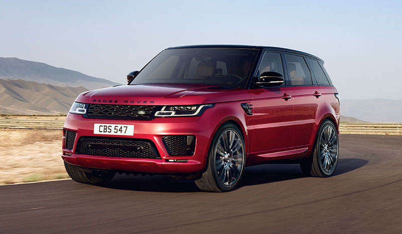 Range Rover Sport Vehicle Overview Land Rover