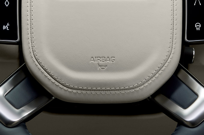 New Range Rover Airbags System