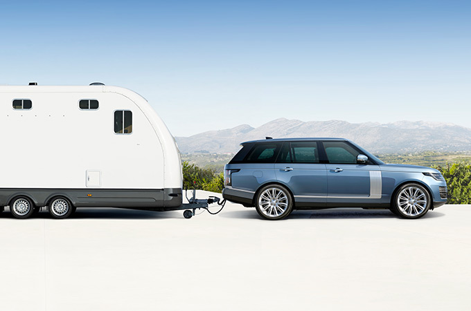 Range Rover Advanced Tow Assist