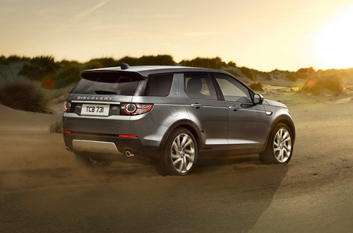 Discovery Sport - Capacidade off-road