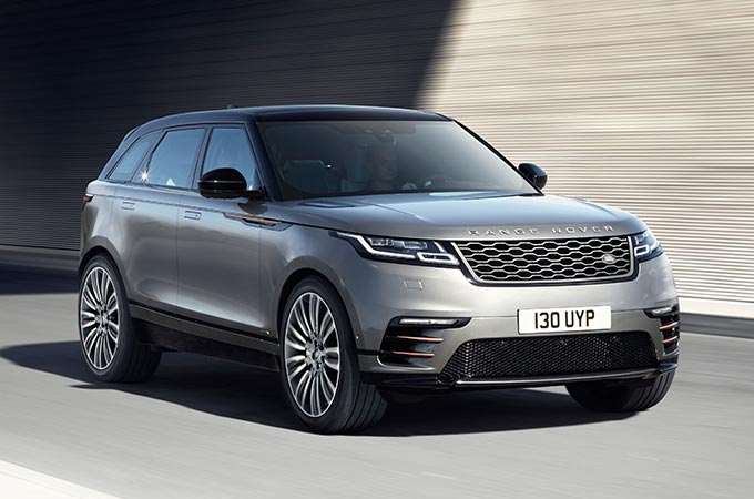 Range Rover Velar Mid Size SUV Interior Safety airbags
