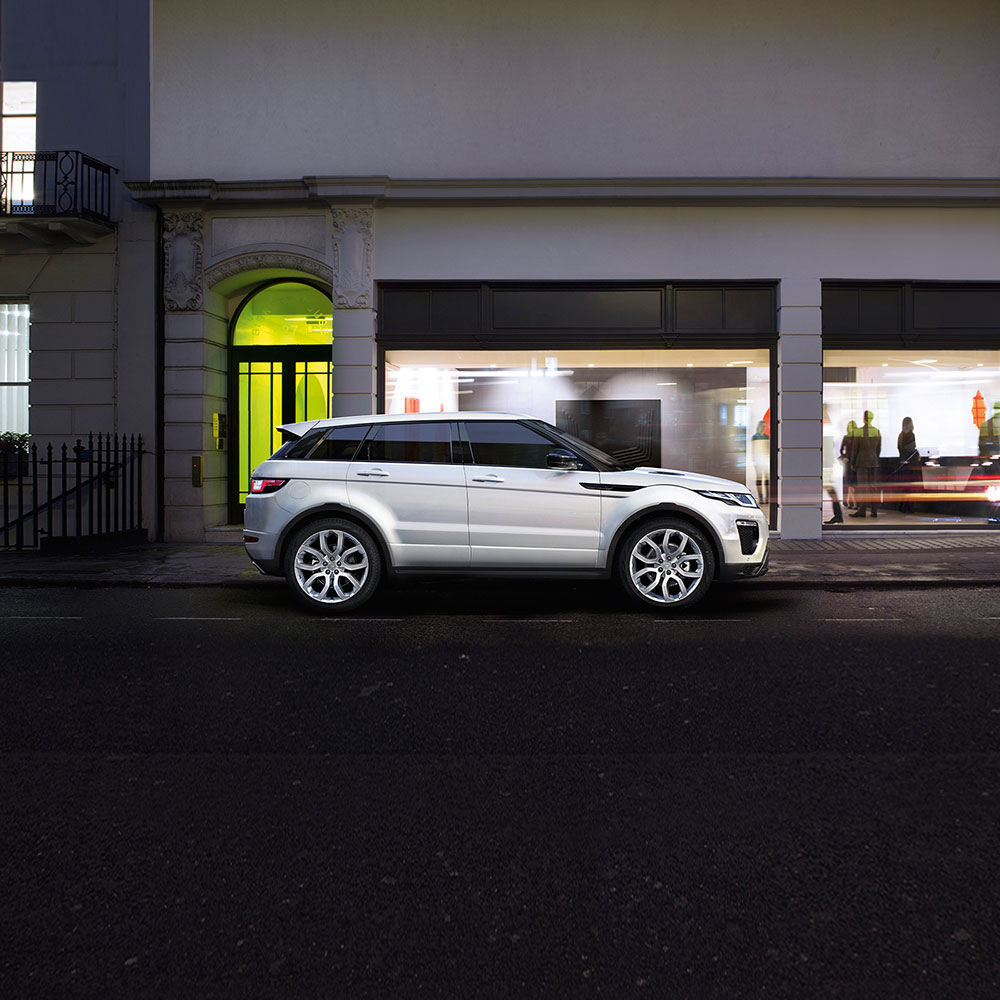 Range Rover Evoque, Luxury SUV