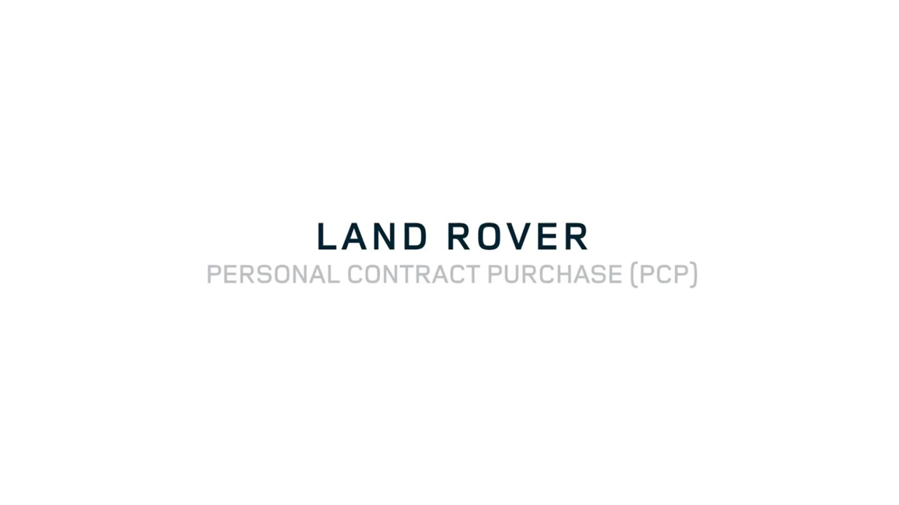 Land Rover Video