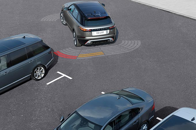 Range Rover Velar Front and Rear Parking Aid