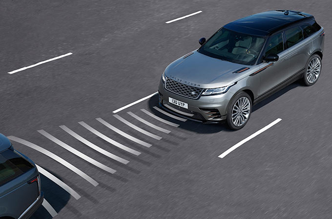 Range Rover Velar Adaptive Cruise Control With Steering Assist