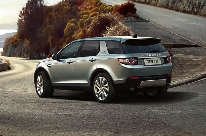 Discovery Sport In Car Technology Land Rover