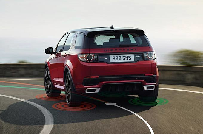 Discovery Sport 17MY - Torque Vectoring by Braking