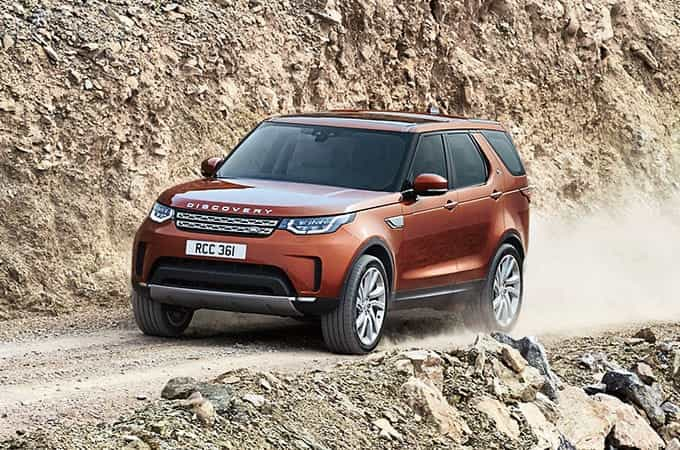 Land Rover Discovery Off-road Driving All-terrain vehicle