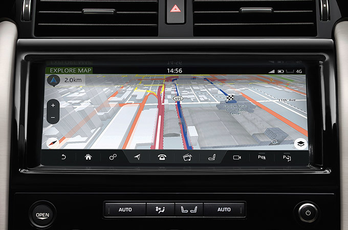 Land Rover Discovery 4x4 Navigation Touch Screen