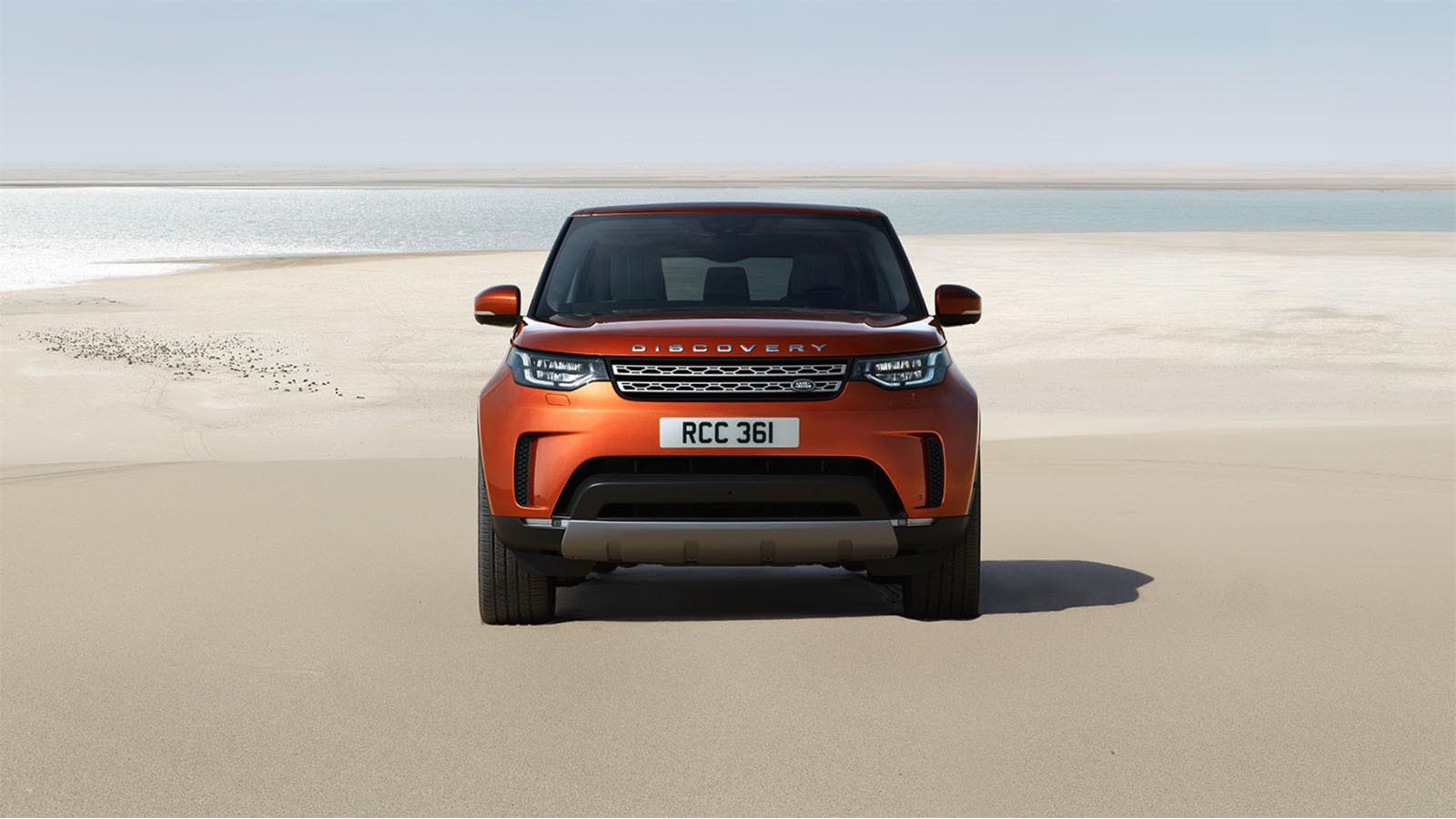 Land Rover Discovery 2017 4x4 Off-Road Front Grille