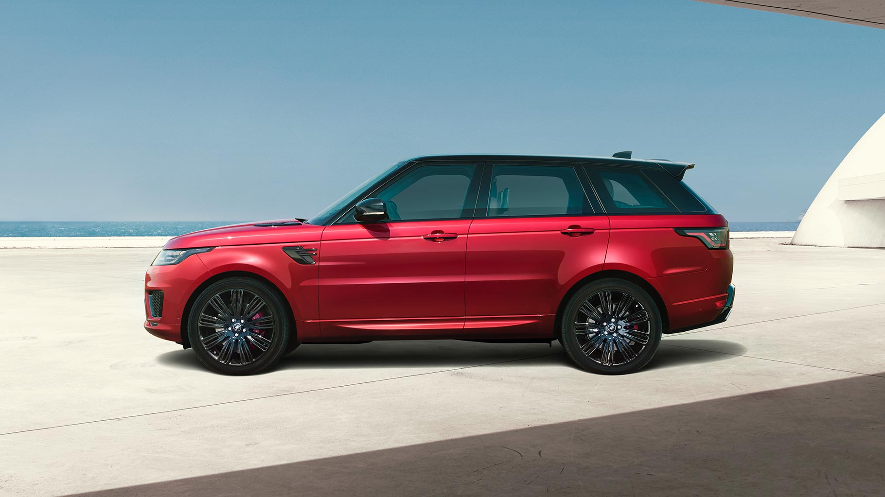 der neue range rover sport galerie land rover. Black Bedroom Furniture Sets. Home Design Ideas