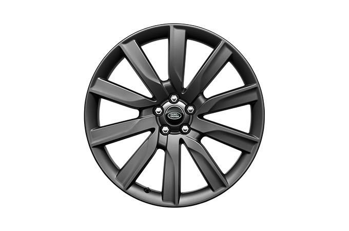 "Range Rover 21"" 10 Spoke Satin Dark Grey Wheel"