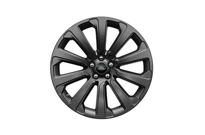 "Range Rover 20"" 10 Spoke Satin Dark Grey Wheel"