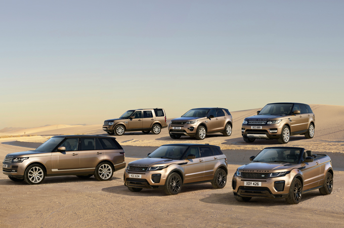Land Rover vehicles