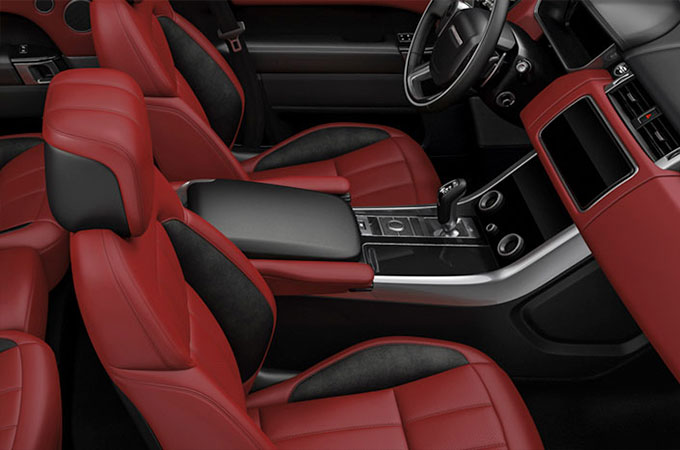 Range Rover Sport Interior Colorways