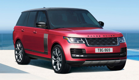 2018 Range Rover Models And Pricing Land Rover Usa