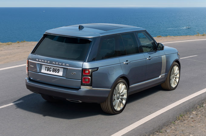 Range Rover Dynamic Mode
