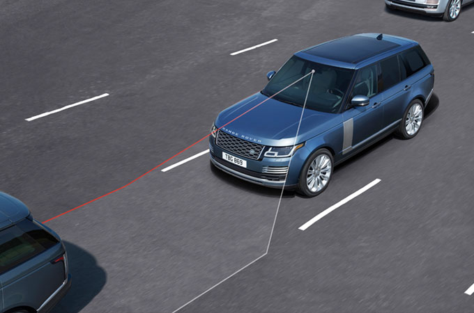 Range Rover Lane Departure Warning