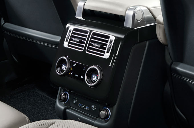 Range Rover Four-zone Climate Control