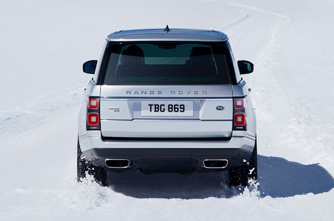 Range Rover Low Traction Launch