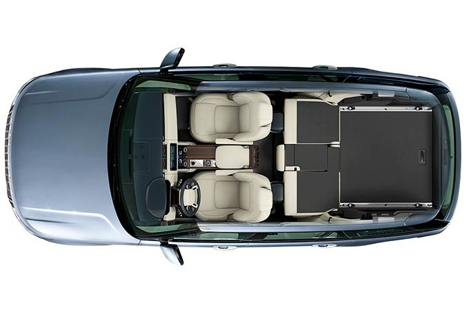 RANGE ROVER - EXECUTIVE CLASS REAR SEATS - CONVENIENT SEAT FOLD