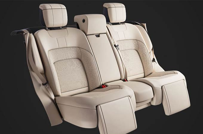 RANGE ROVER - EXECUTIVE CLASS REAR SEATS - SEAT ADJUSTMENT