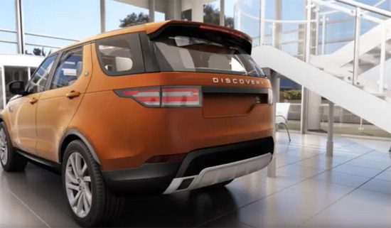 2017 Discovery | Gesture Power Tailgate