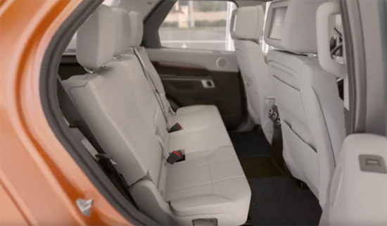 2017 Discovery | Manual Third Row Seat Operation
