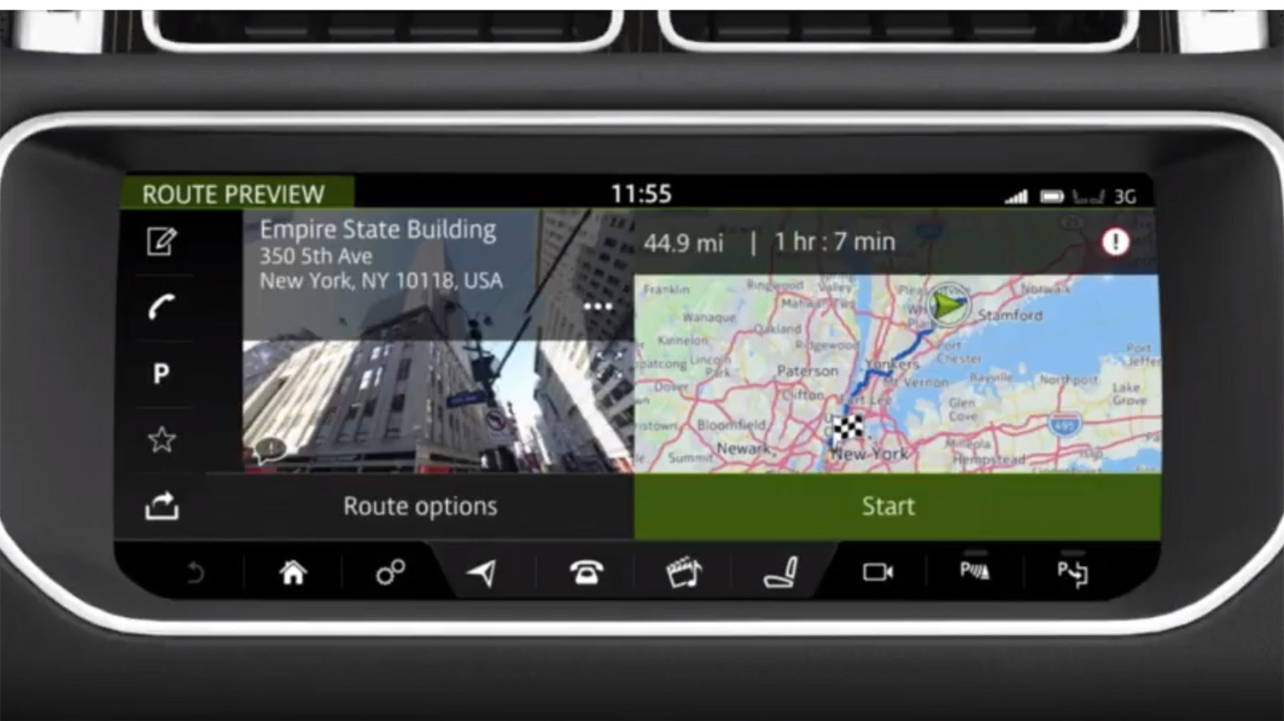 2017 Range Rover Sport InControl Touch Pro | How to Enter a Navigation Destination