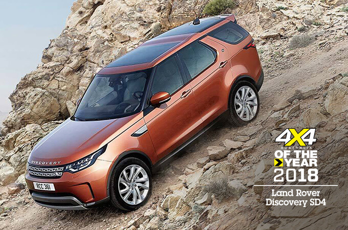 LAND ROVER DISCOVERY 2018 4X4 OF THE YEAR