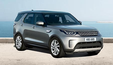 Land Rover Discovery Off-Road SUV Vehicle Model HSE