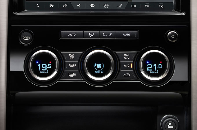Four-zone Climate Control