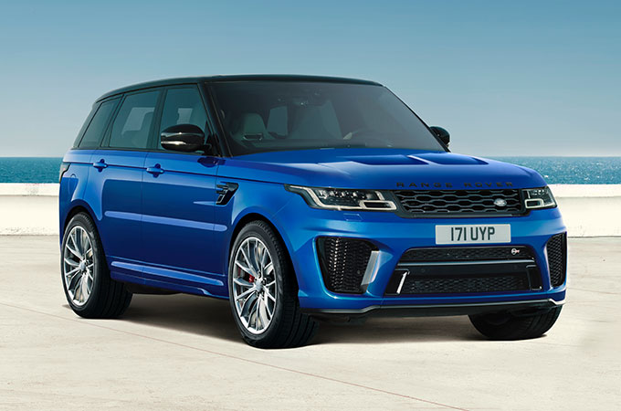 Range Rover Sport Svr Overview Land Rover Uk
