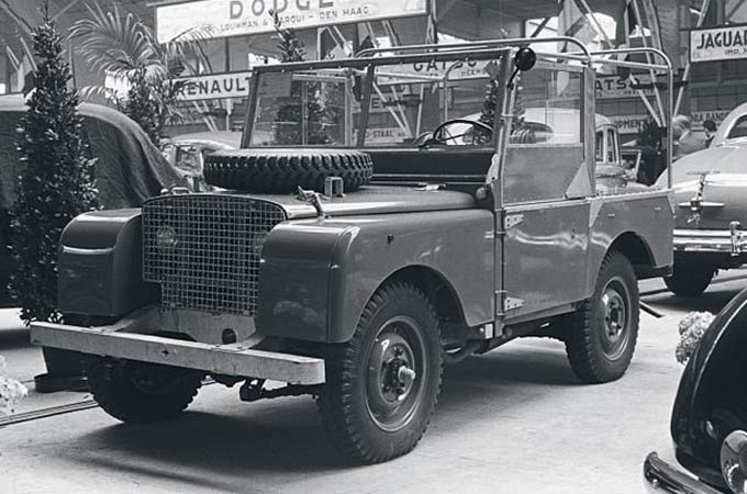 First Land Rover Series 1 Model