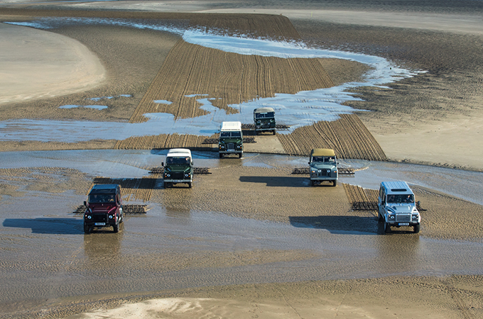 LAND ROVER THROUGH THE AGES