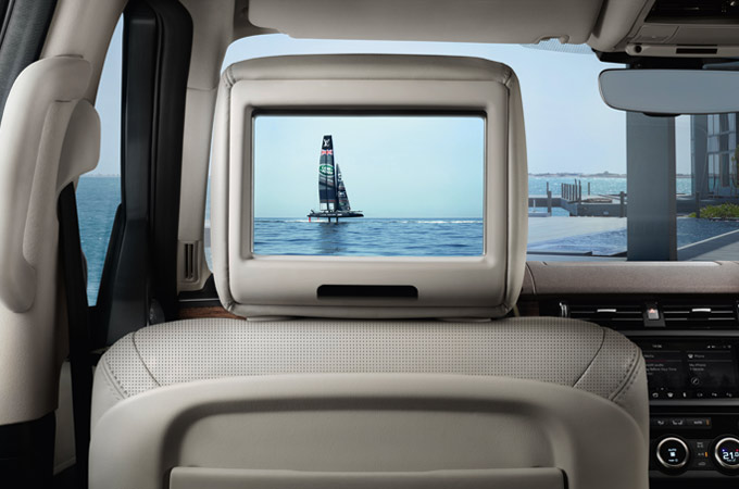 Land Rover Discovery Luxury 4x4 Interior Accessories Rear Seat Entertainment Screen