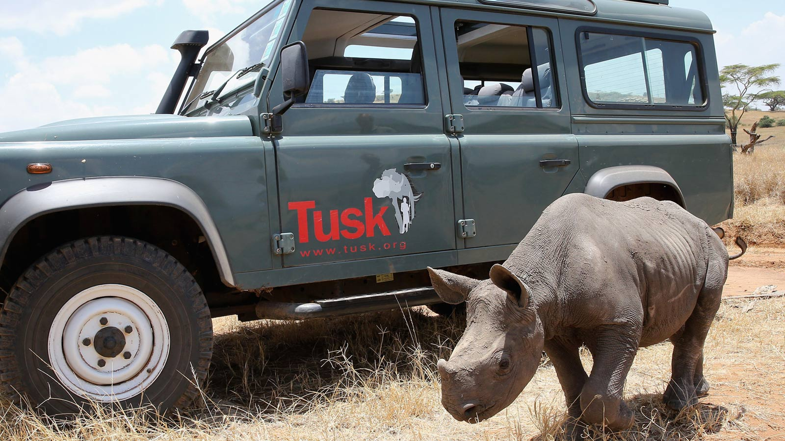 Land Rover and Tusk - The Partnership