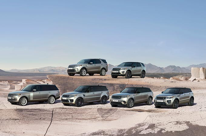 Discover our latest award-winning SUVs and experience the thrill of driving off-road.