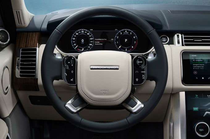 Range Rover Steering Wheel
