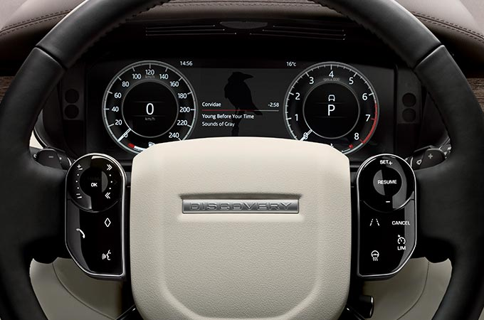 Land Rover Discovery Luxury 4x4 Interior Accessories Touch Screen Pro