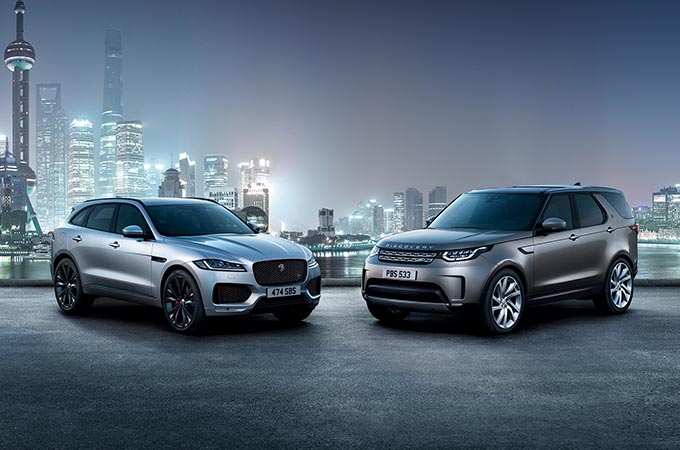Jaguar and Land Rover - Complete Range of Vehicles