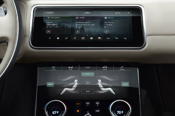 Land Rover - InControl Infotainment System