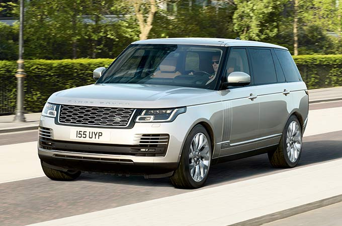 Land Rover Range Rover PHEV Luxury SUV in grey